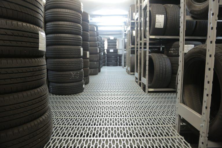Warehouse extinguishing system