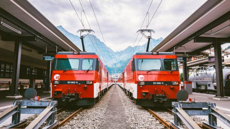 Blussysteem voor railvervoer
