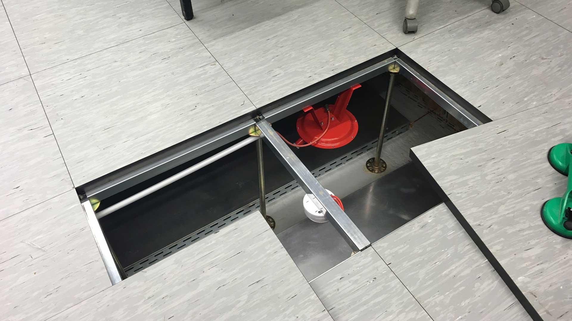 Nieuw blussysteem voor verhoogde vloeren en kabelgoten