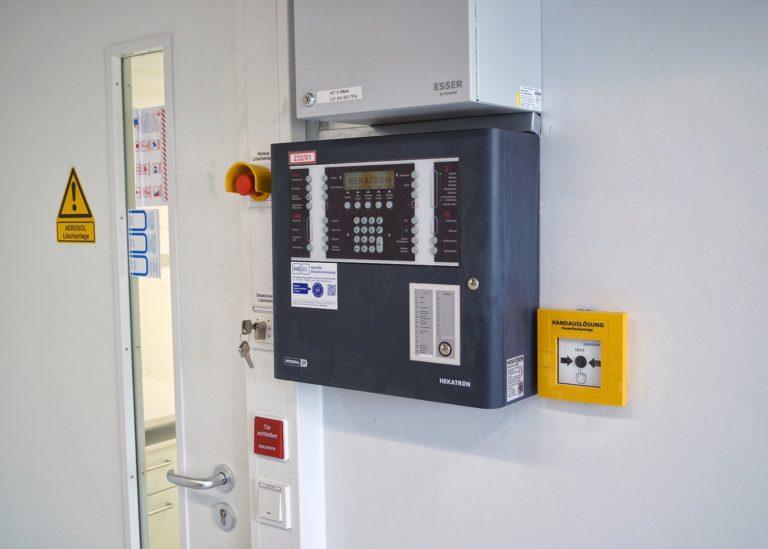 Blussystemen en blusinstallaties voor technische ruimtes